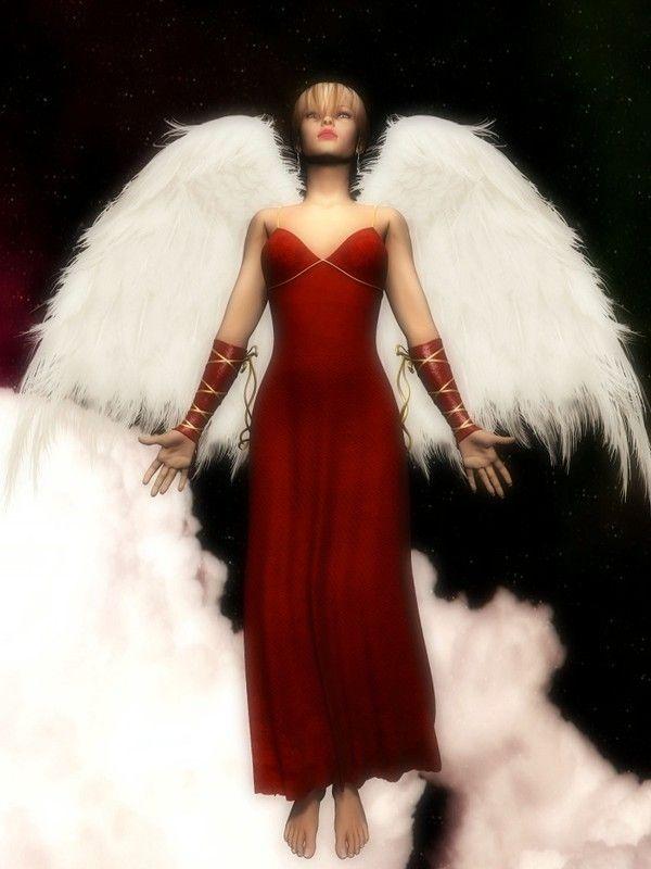 Rouge ... Belle image  Ange