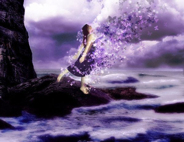 Mauve  Violet ... Belle image