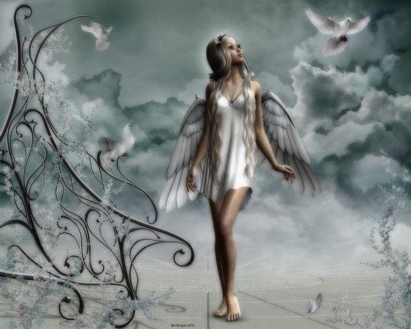 Argent ... Belle image  .. Ange