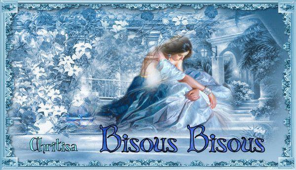 Bleu ... bisous