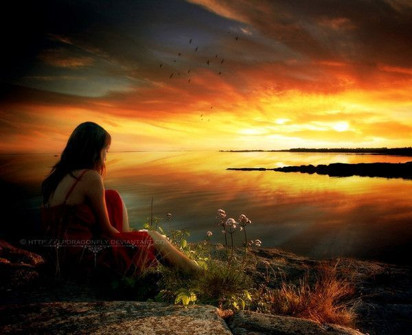 Coucher de soleil ... belle image