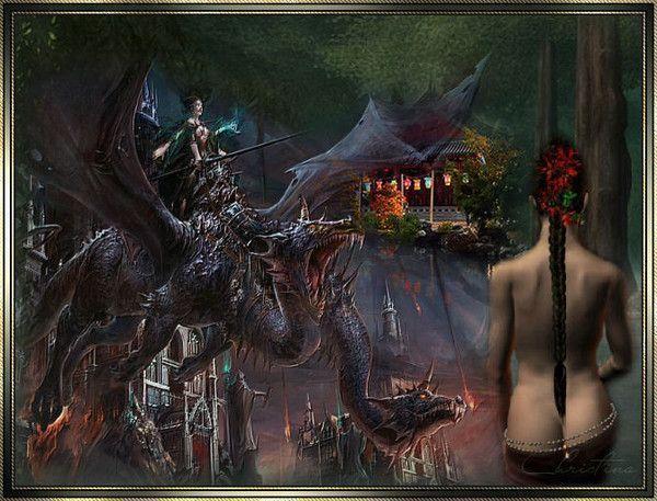 Imaginaire  ... Dragon