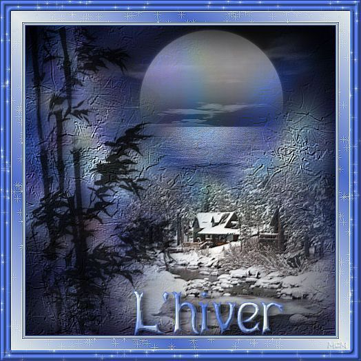 Hiver .... Belle image
