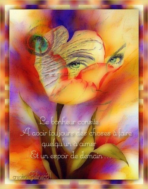 Citation ... Le Bonheur  ...