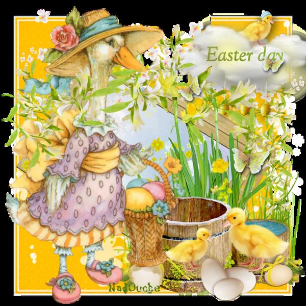 Pâques ... Belle image chez Nadouche