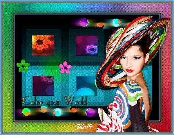 Colorido  ... Belle image chez mon amie Maryse