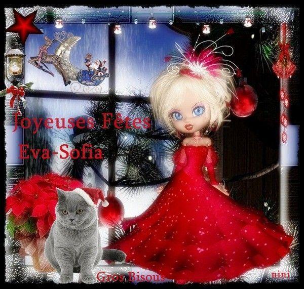 Joyeuses Fêtes      Eva-Sofia