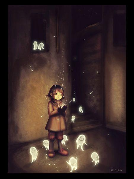 Imaginaire  ... fantômes