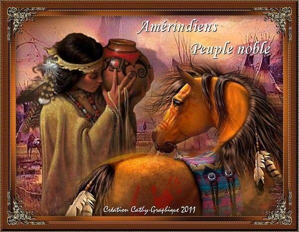 Amérindiens ... Belle image