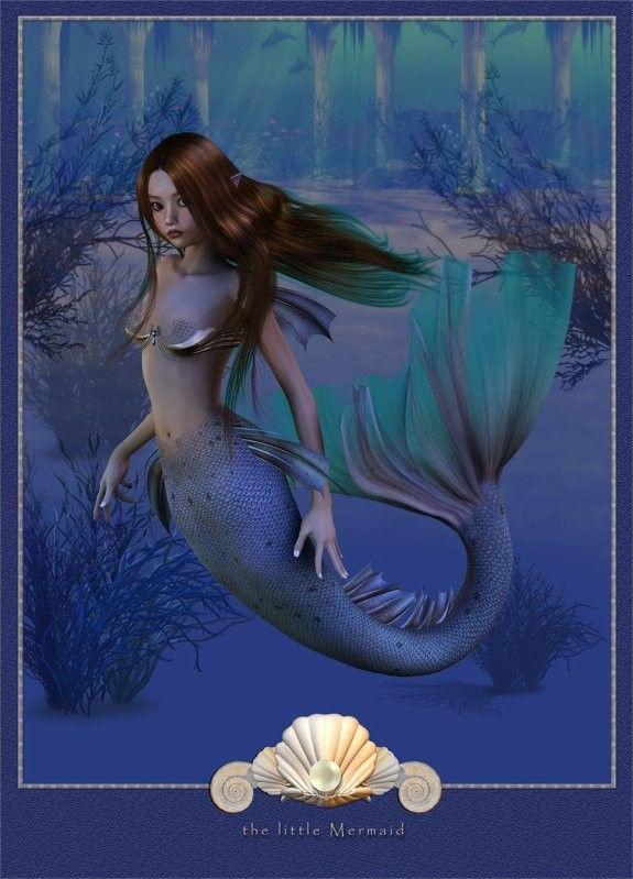 Imaginaire  ...  belle image .. Sirène