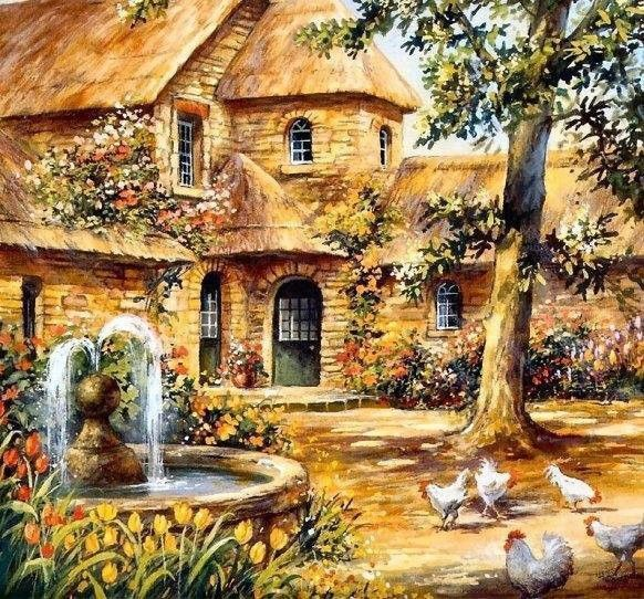 Jaune  ... belle image ... paysage