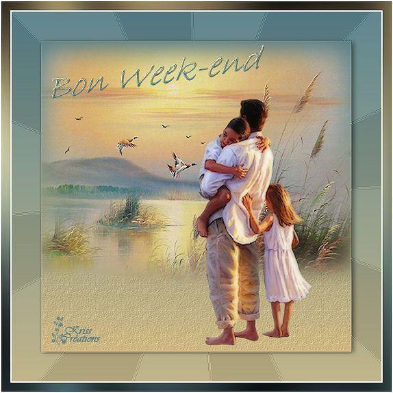 Bonjour  .. Bon week-end à Toutes et Tous