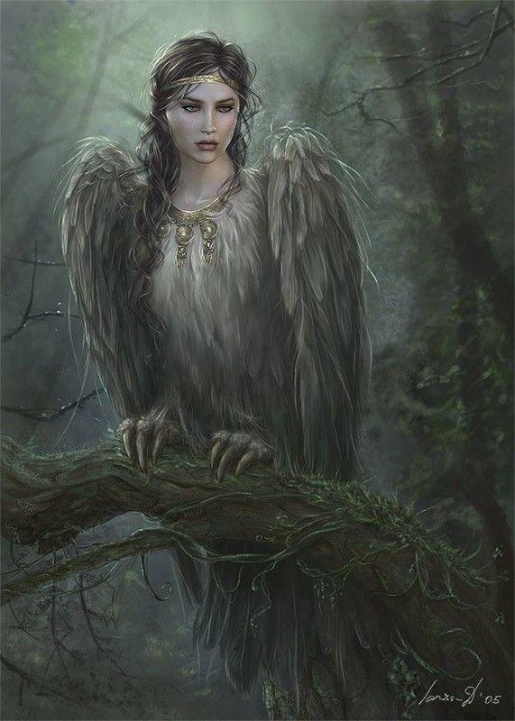 Imaginaire ... Femme oiseau