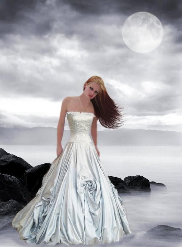 Blanc ..  belle image