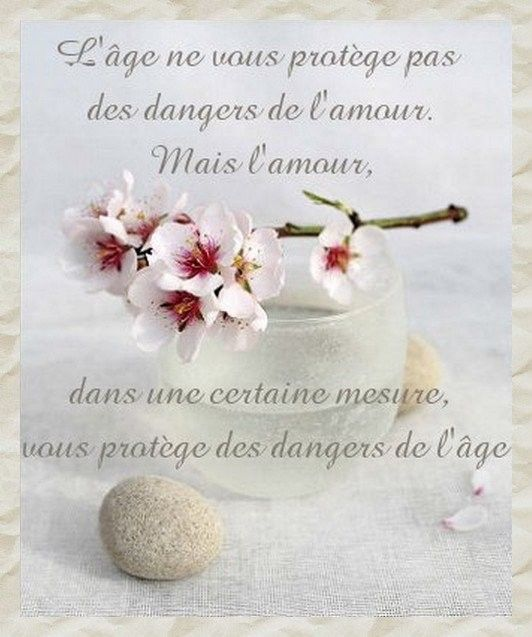 Citation .. L'âge  ..
