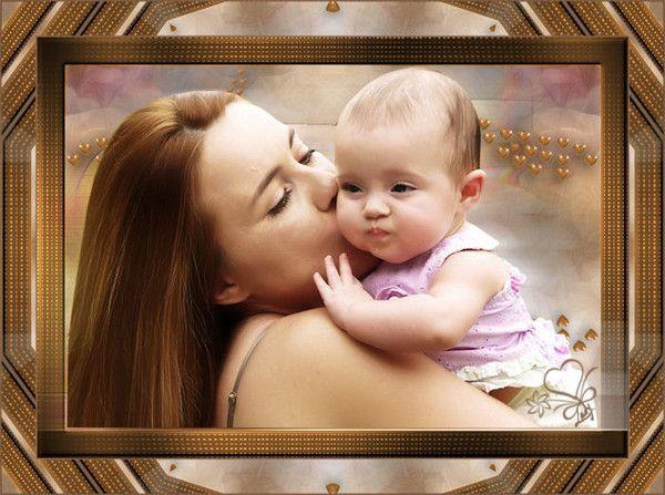 Mère Enfants ... Belle image