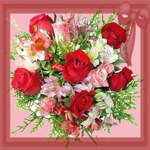 Un bouquet pour vous ....