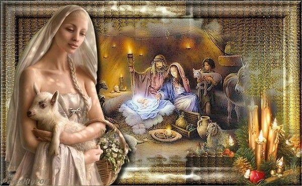 Spiritualité  ... Nativité chez ma popine Kty