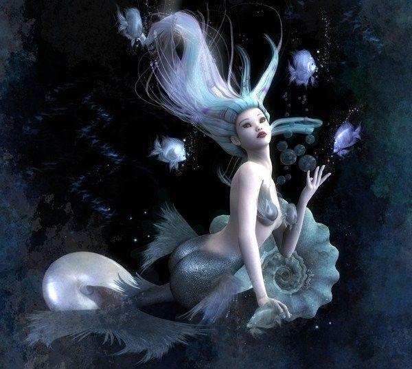 Imaginaire ... Fantastique  ... Sirène