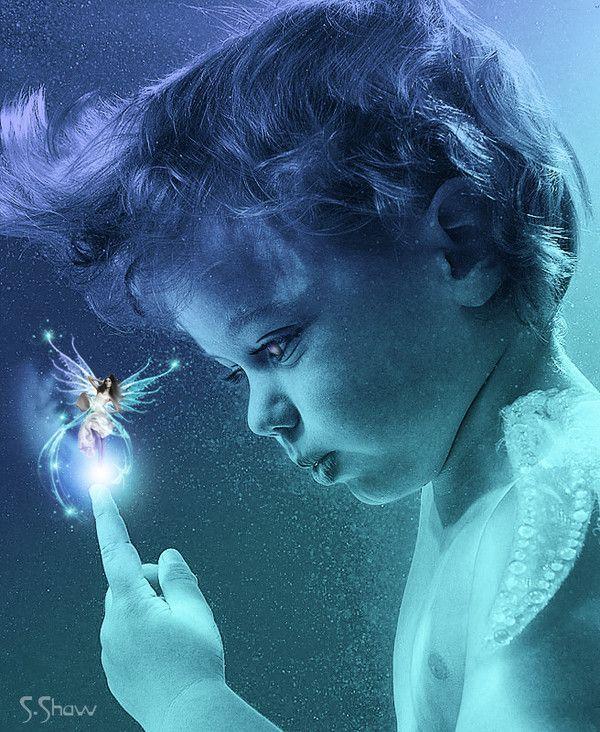 Enfant  ... et fée ..