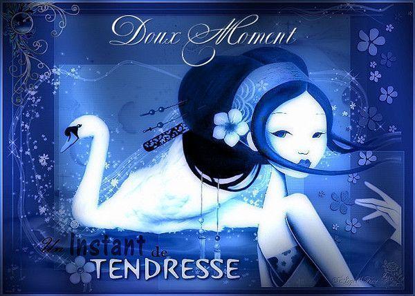 Bleu ... Belle image  ...Tendresse
