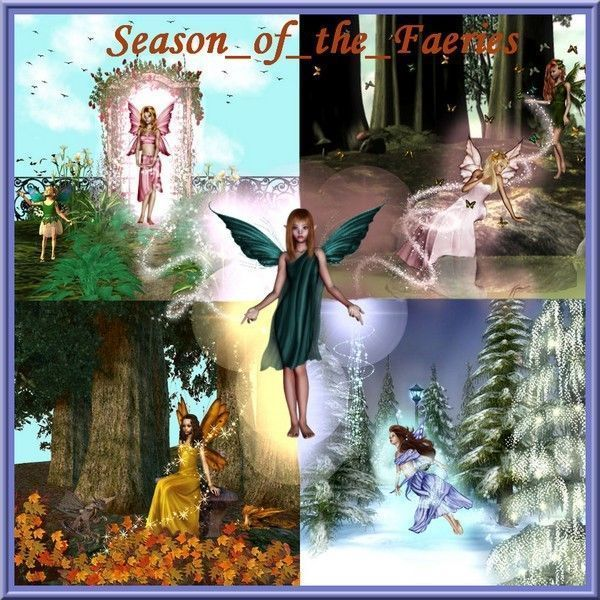 Saisons .... fées des 4 saisons