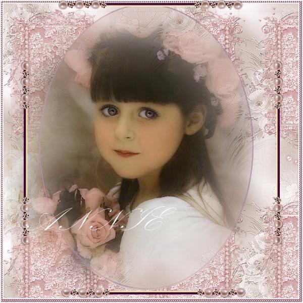 Rose  ... belle image  ... fillette
