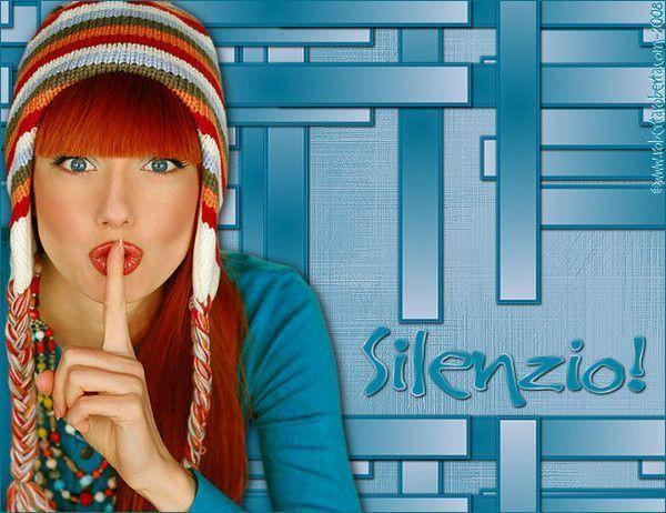 Belle image ... Silence !