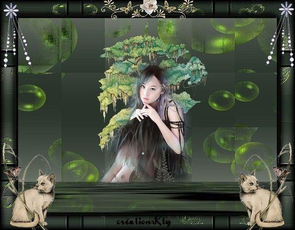 Vert ... Belle image chez ma popine Kty