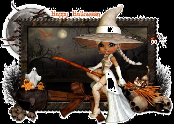 Joyeuses Fêtes d'Halloween à Toutes et Tous