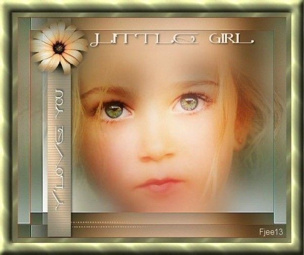 Enfant ... fillette