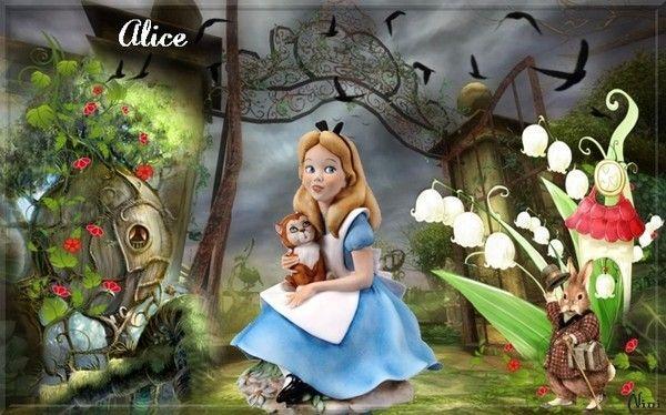Jeunesse  ...  Alice au pays des merveilles  ...