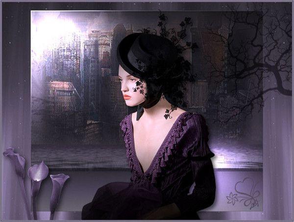 Mauve .. Violet .. Belle image