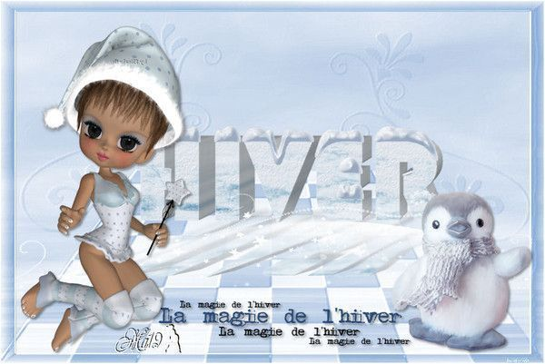 Hiver ... Belle image chez mon amie Maryse