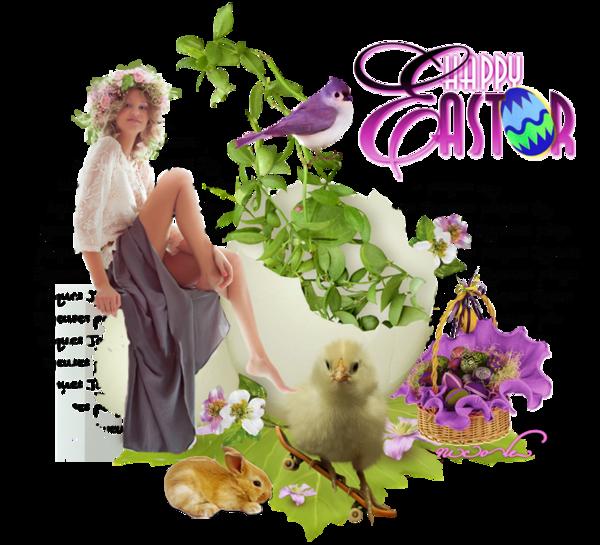 Pâques ... Belle image chez ma Choupinette