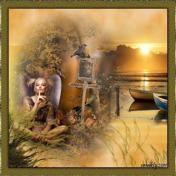 """Belle image .. """"silence"""" .. chez Kathania"""