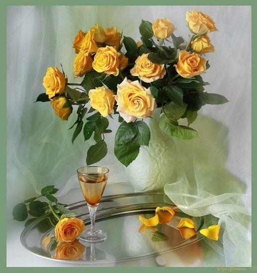Jaune  ... joli bouquet