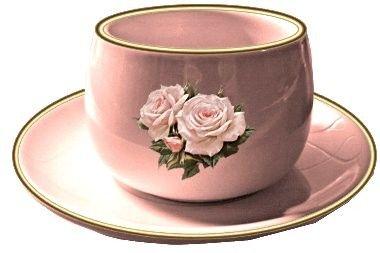 Rose comme .... tasse