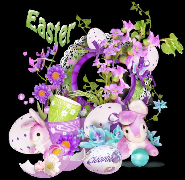 Pâques ... Belle image chez ma popine Cléo