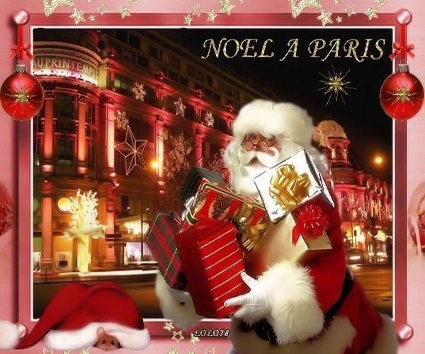 Paris  ... Noël  ... Belle image