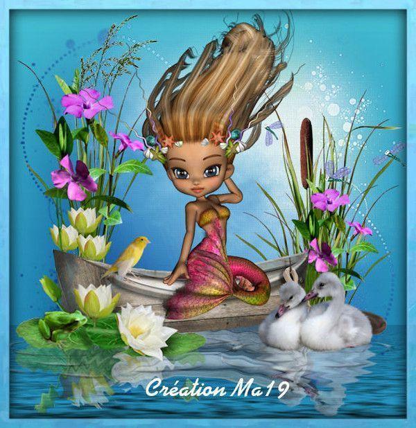 Imaginaire .. Fantastique  ... Sirène