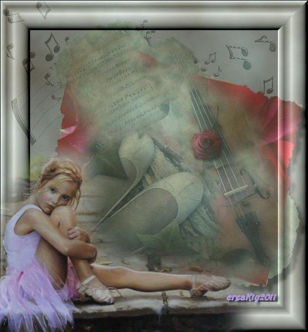Musique .. Danse ... Belle image de popine Kty