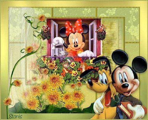 Jeunesse  ... Mickey Minie