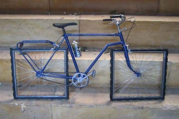 Humour ... mon vélo du dimanche  ;-))
