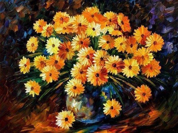 Orange ... joli bouquet
