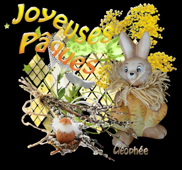 Pâques ... Belles images chez ma popine Cléo
