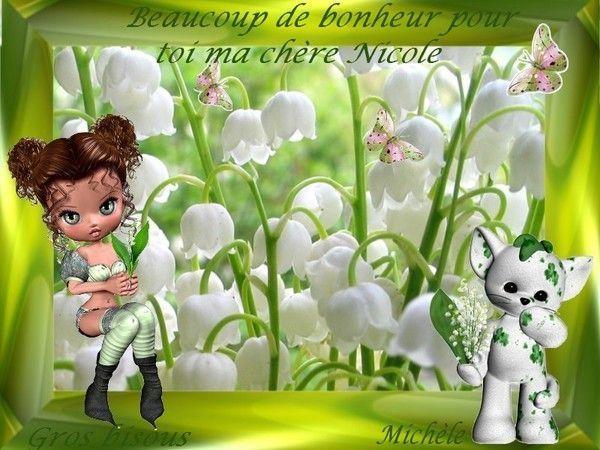 Cadeau perso de mon amie Michèle