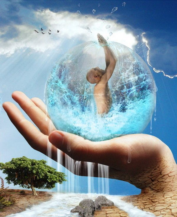 Terra ... l'eau .. si précieuse