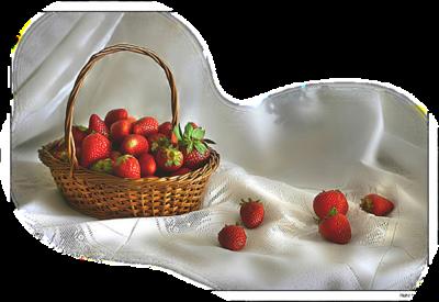 Rouge ... fraises