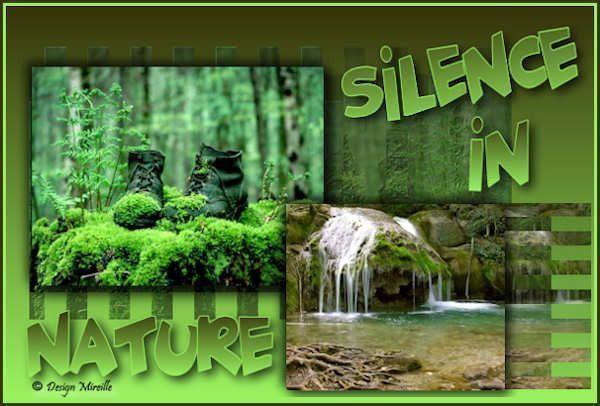 Belle image  ... Silence